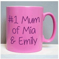 Personalised Mums Mug