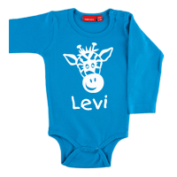 Personalised Long Sleeve Body Suit