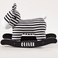 Personalised Rocking Zebra