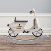 Personalised Rocking Scooter