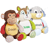 Cubbies Embroidered Soft Toy