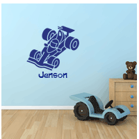 Personalised Wall and Door Sticker
