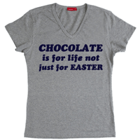 Personalised Easter Chocolate T shirt