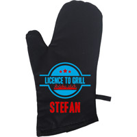 Personalised BBQ Glove