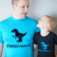 Dinosaur T Shirt Set