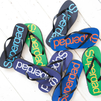 Personalised Superdad Flip Flops