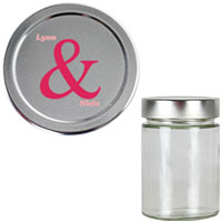 Personalised Glass Jar
