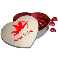 Personalised Heart Tin