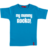 Personalised Mummy Rocks T Shirt