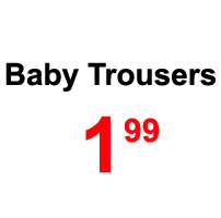 Sale-baby trousers
