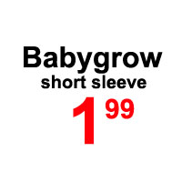 Sale- babygrow short sleeve