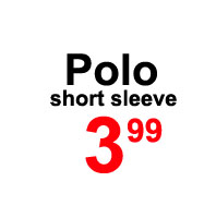 Sale- polo short sleeve