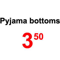 Sale- pyjama bottoms
