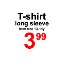 Sale- long sleeve T shirt