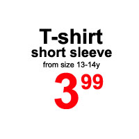 Sale- short sleeve T shirt