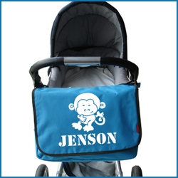 personalised baby changing bag