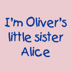 Little sister Alice