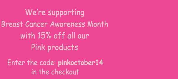 15% off Pink products