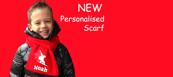 Personalised Scarf