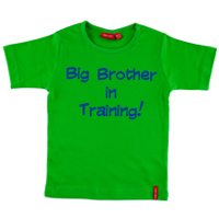 Personalised Short Sleeve Big Brother T Shirt