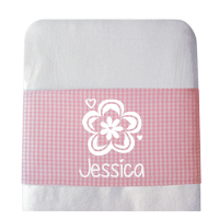 Personalised Baby Crib Bed Sheet