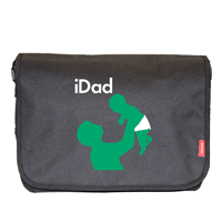 Personalised iDad Baby Change Bag