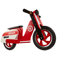 Personalised Wooden Balance Bike Scooter